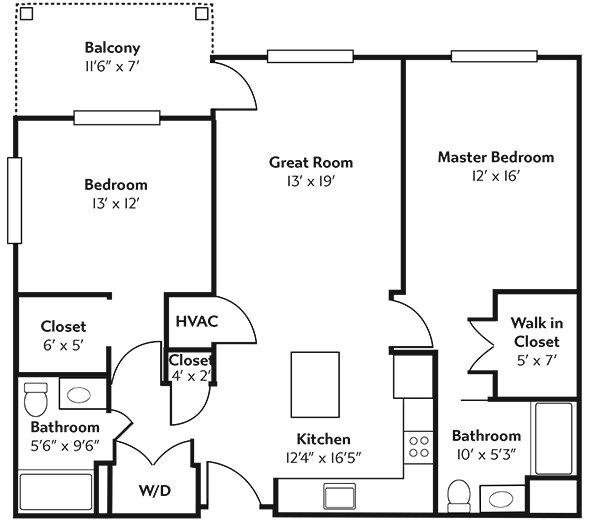 Rivertown Ridge Superior Floor Plan.